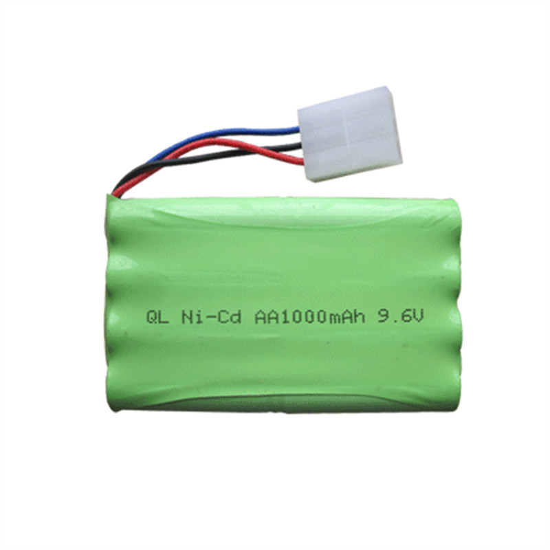 9.6 V 1000 mAh Ni-CD Pil MZ 2050 2054 2060 2053 2020 RC araba Için 3PIN Hollow Soket